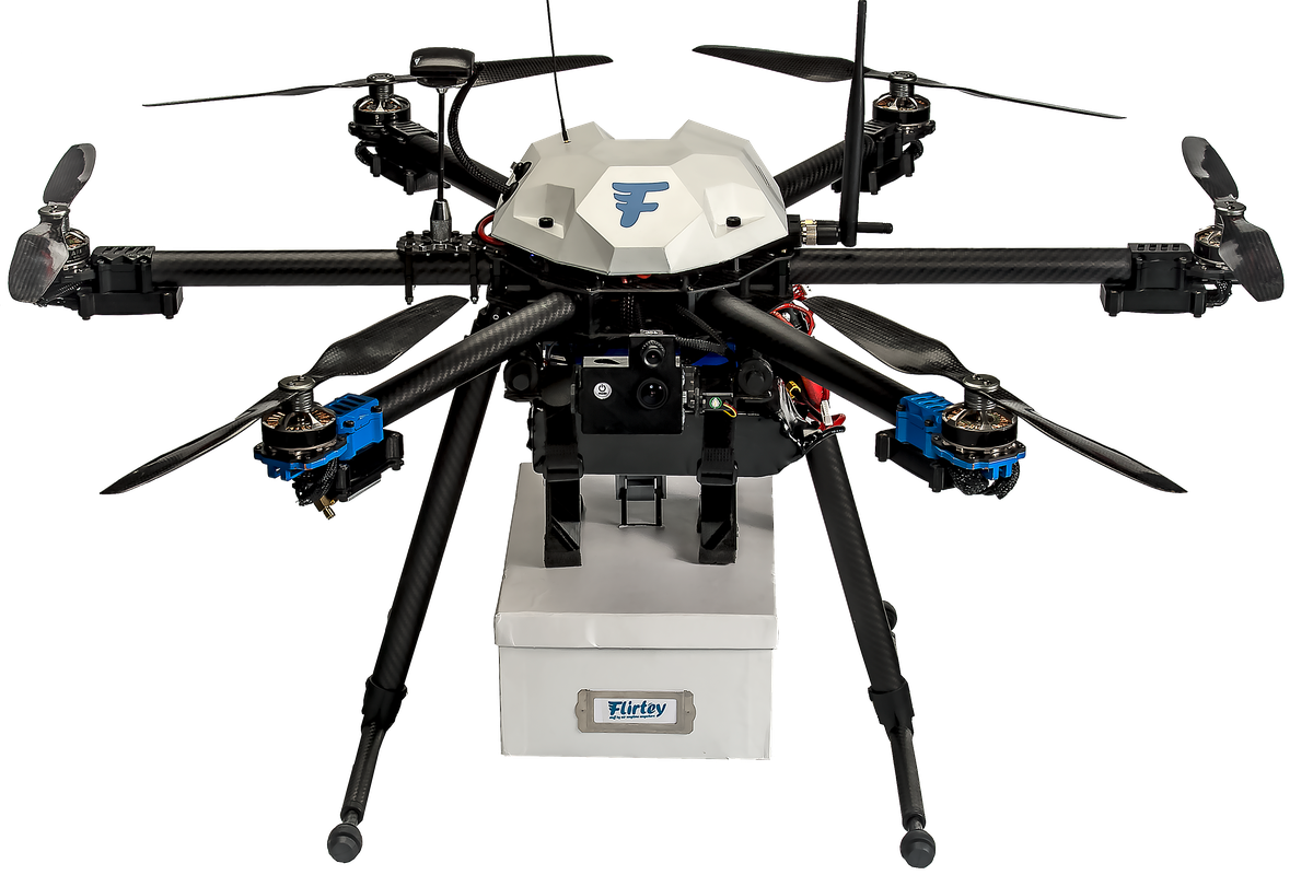 Watch the First Government Approved Drone Delivery