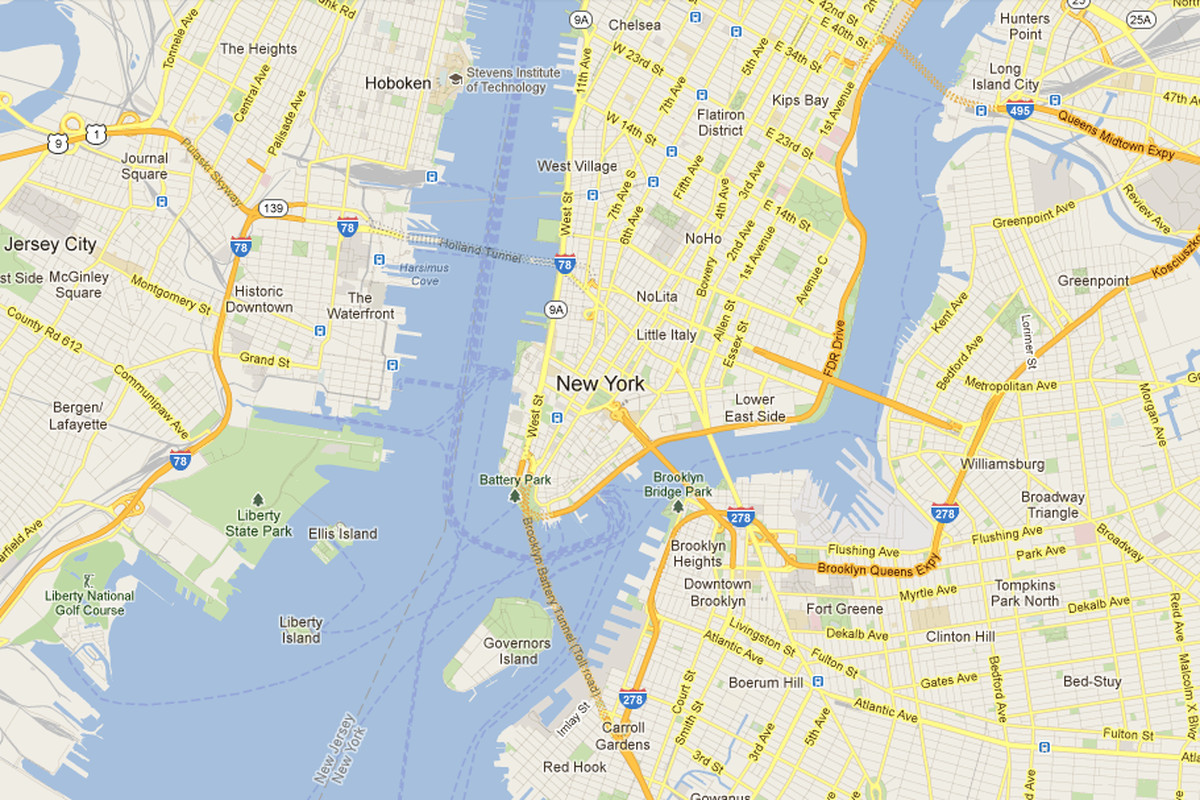 Google Map Of New York City.Neighborhood Watch How Amateur Moderators Police Google Maps The