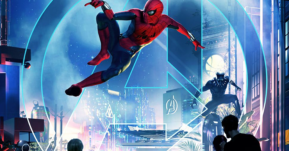 Disney is bringing 'immersive' Marvel lands to its theme parks