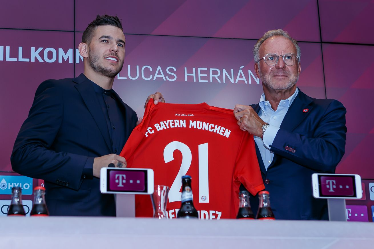Lucas Hernandez says he?s eager to start his Bayern Munich career