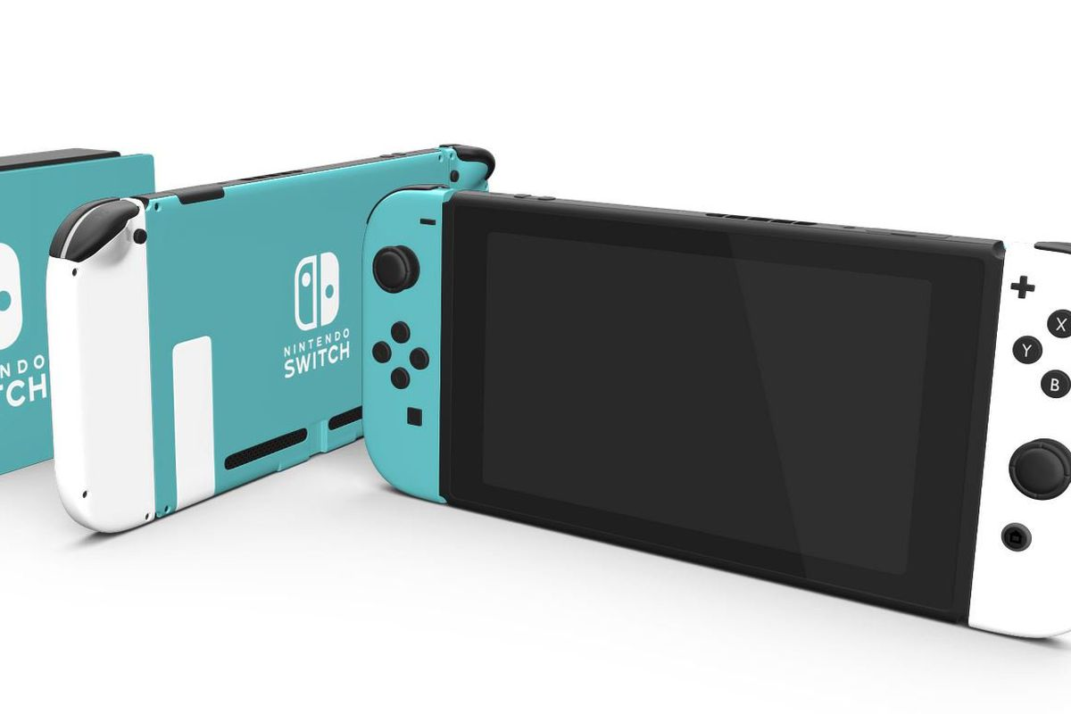 You can buy a colorful, customized Nintendo Switch for $499 - The Verge