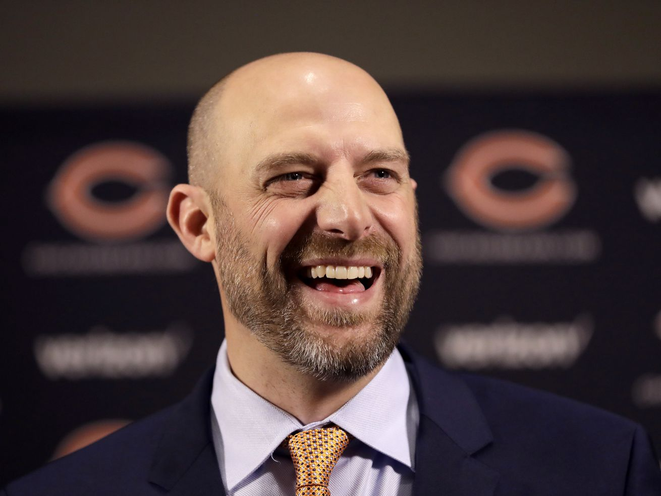 Bears coach Matt Nagy knows he has to be successful this season if he wants to stick around.