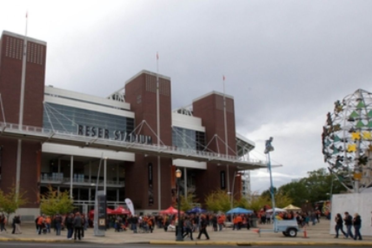 The Beavers are back at Reser, after only 1 home game in the last 6 weeks.