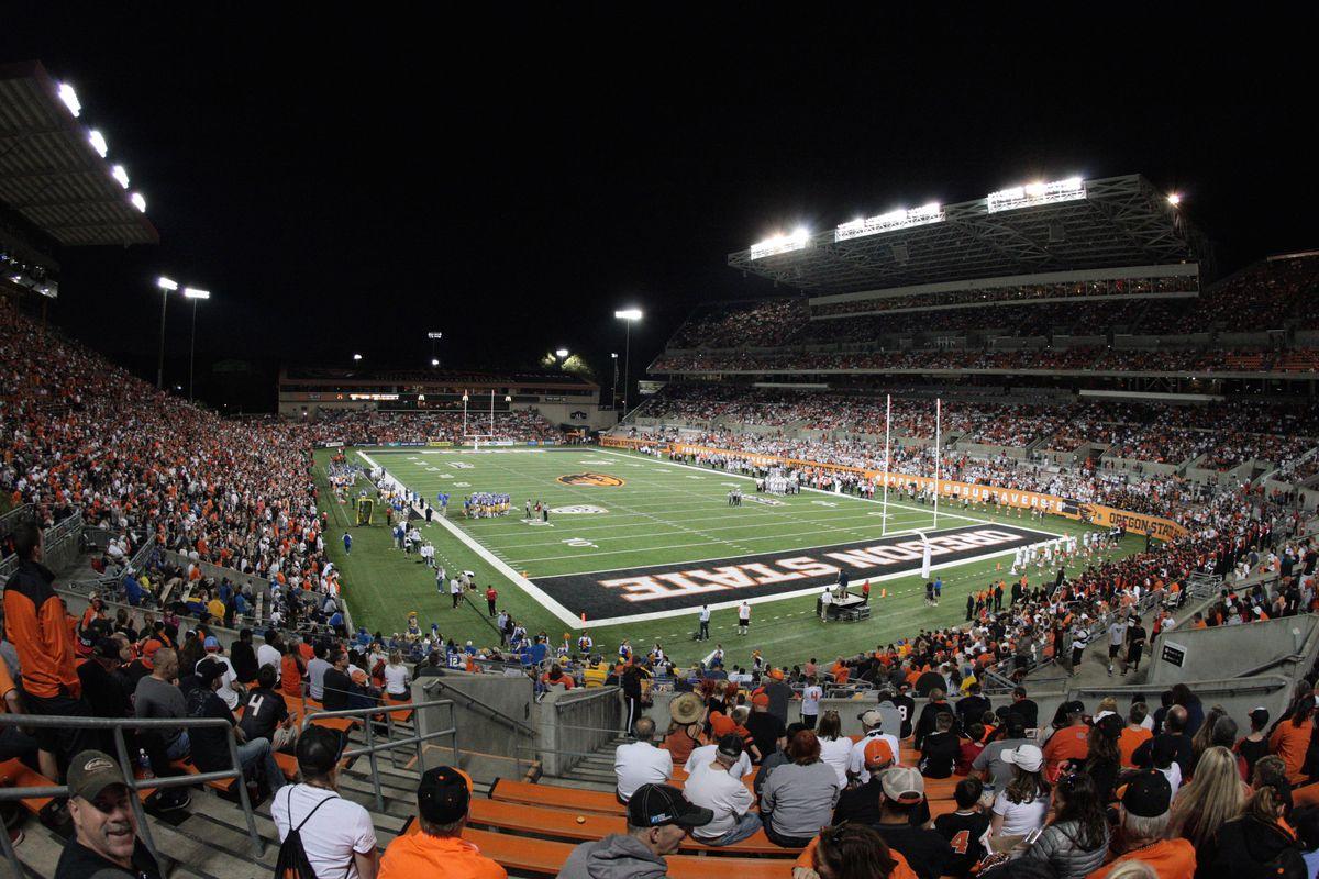 NCAA Football: San Jose State at Oregon State