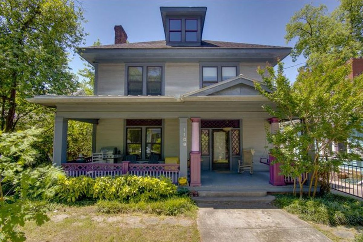 A Victorian for sale in Inman Park Atlanta right now.