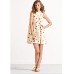 "<a href=""http://www.katespade.com/designer-clothing/designer-dresses-and-skirts/act-three-chandler-romper/NJMU1703,default,pd.html?dwvar_NJMU1703_color=791&start=8&cgid=kate-spade&q=polka%20dot&navid=search""> kate spade dotted Chandler romper</a>, $274 ka"
