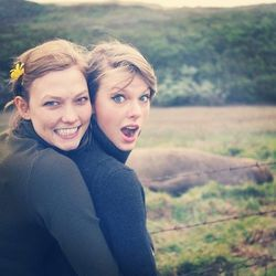 <strong>Speaking of travel, you just went on a road trip with Taylor Swift. What are the essentials of a great road trip?</strong> Delicious snacks, and really good music—the ultimate playlist. We had lots of Karlie's cookies, and we stopped at a lot of
