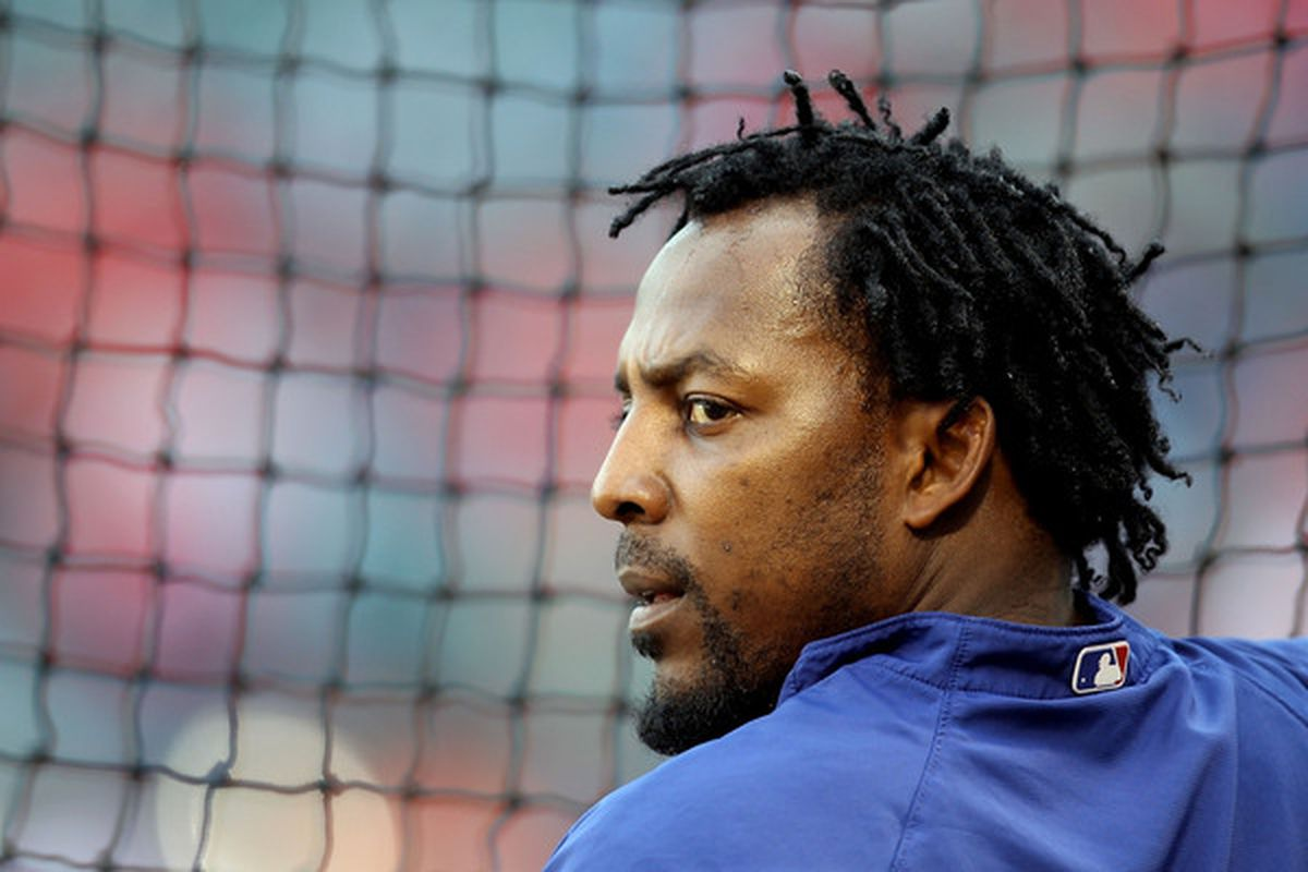 Is one year of future Hall of Famer Vlad Guerrero a better investment than Felix Pie? (Photo by Christian Petersen/Getty Images)
