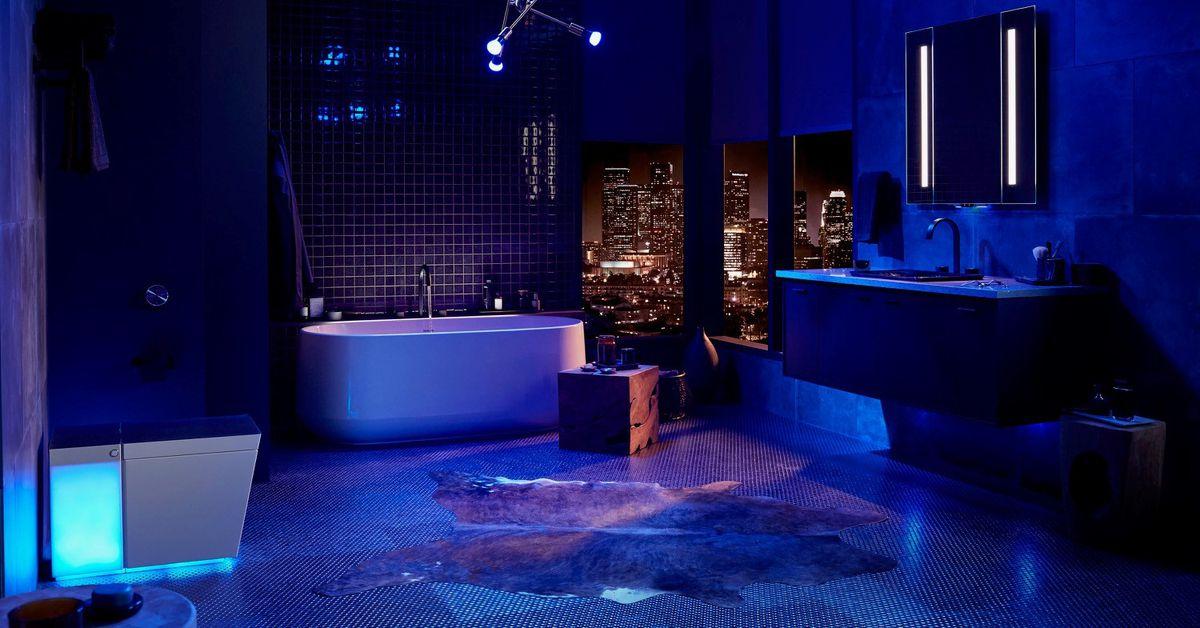 Kohler's smart toilet promises a 'fully-immersive experience'