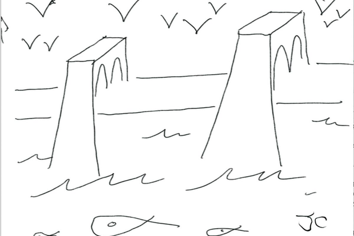 John Cleese Brooklyn Bridge