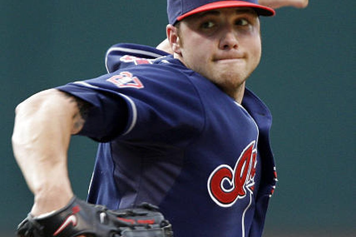 Cleveland Indians' Aaron Laffey earned his sixth win of the season against the Texas Rangers.
