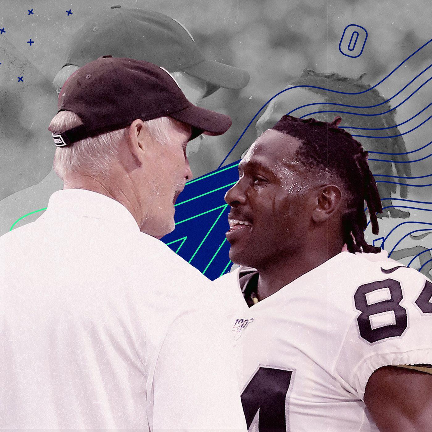 The Raiders Released Antonio Brown What Happens Now Sbnation Com