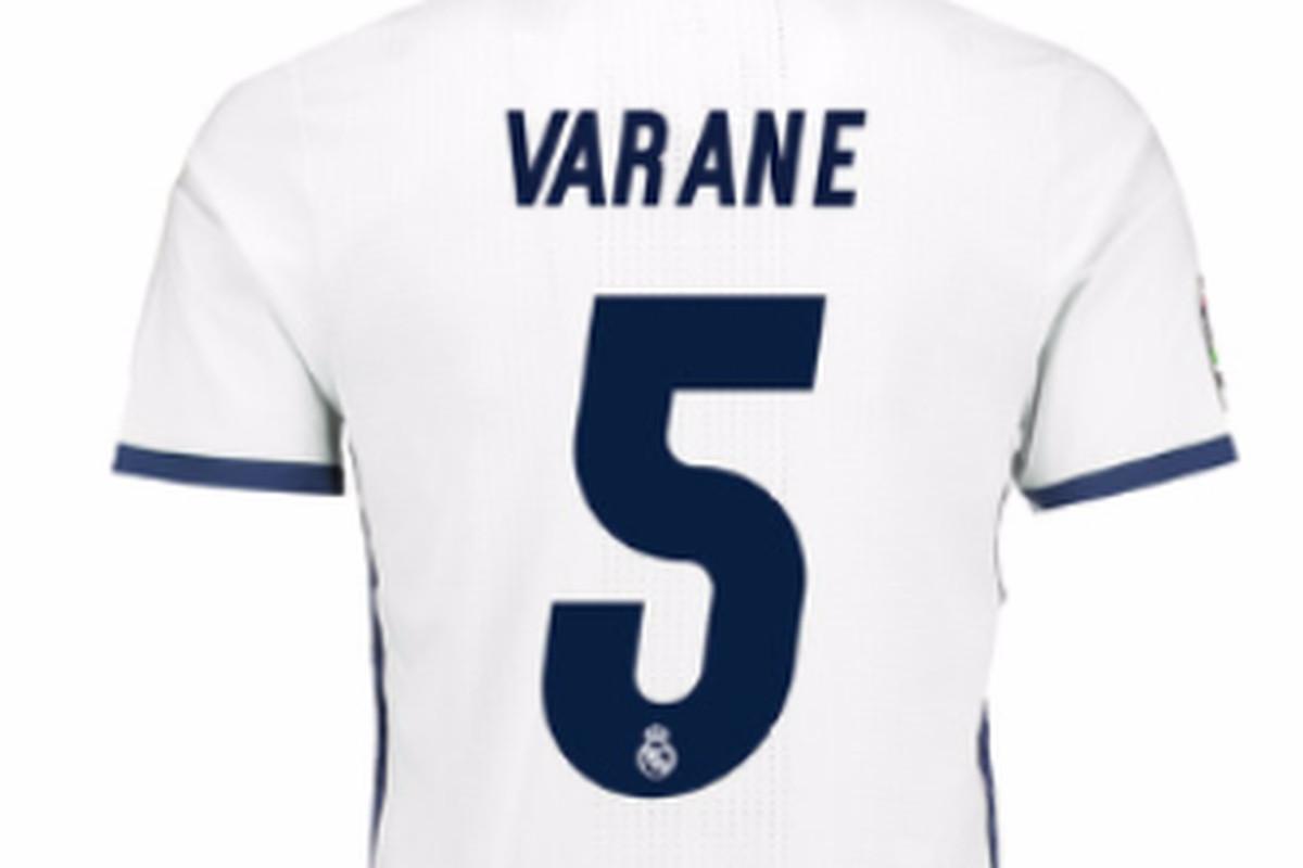 quality design 1d8e0 2d417 Carvajal, Varane and Lucas Vázquez change numbers - Managing ...