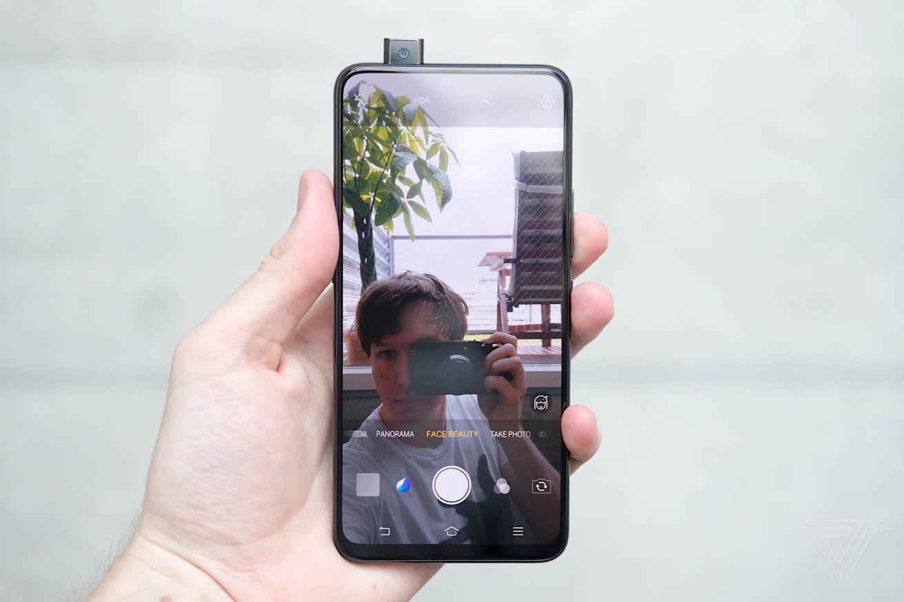 teardown shows inner workings of the vivo nex s pop up selfie camera