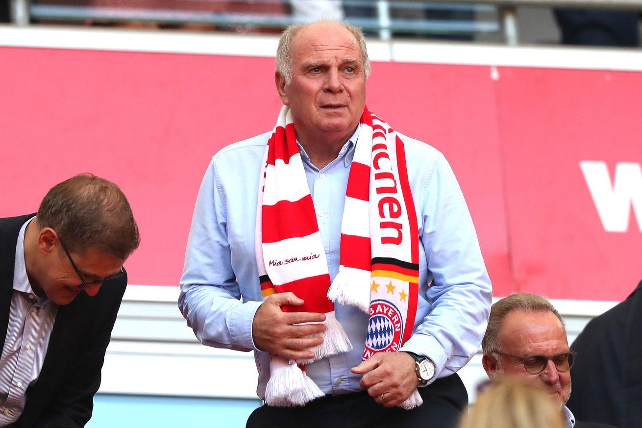 Bayern Munich president Uli Hoeness backs Manuel Neuer over FC Barcelona?s Marc-André ter Stegen