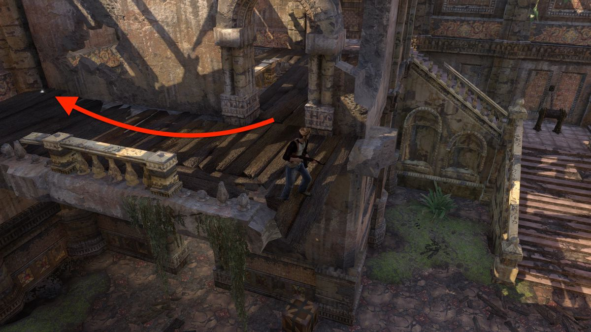 Uncharted: Drake's Fortune Chapter 10 collectible treasure locations