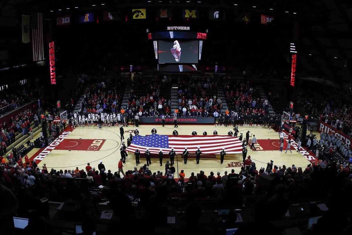 Rutgers Athletic Center National Anthem