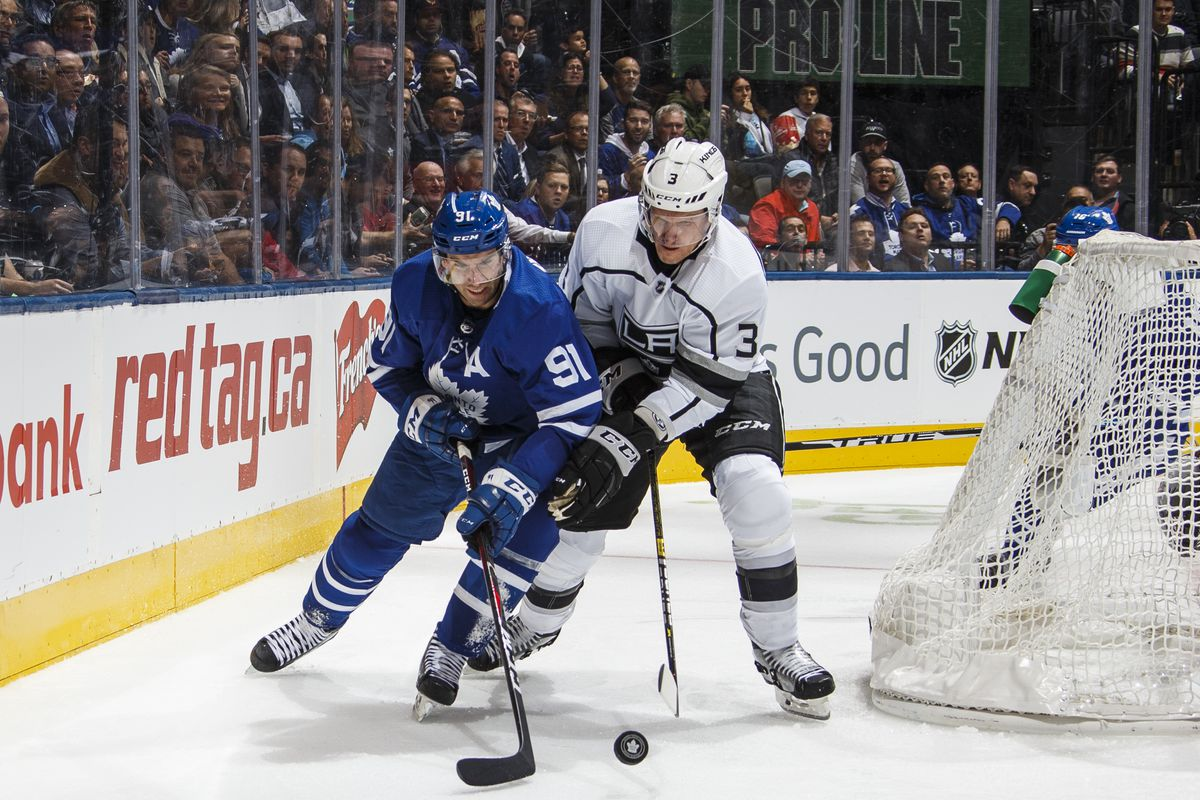 Dion Phaneuf has been hanging out with Brendan Shanahan
