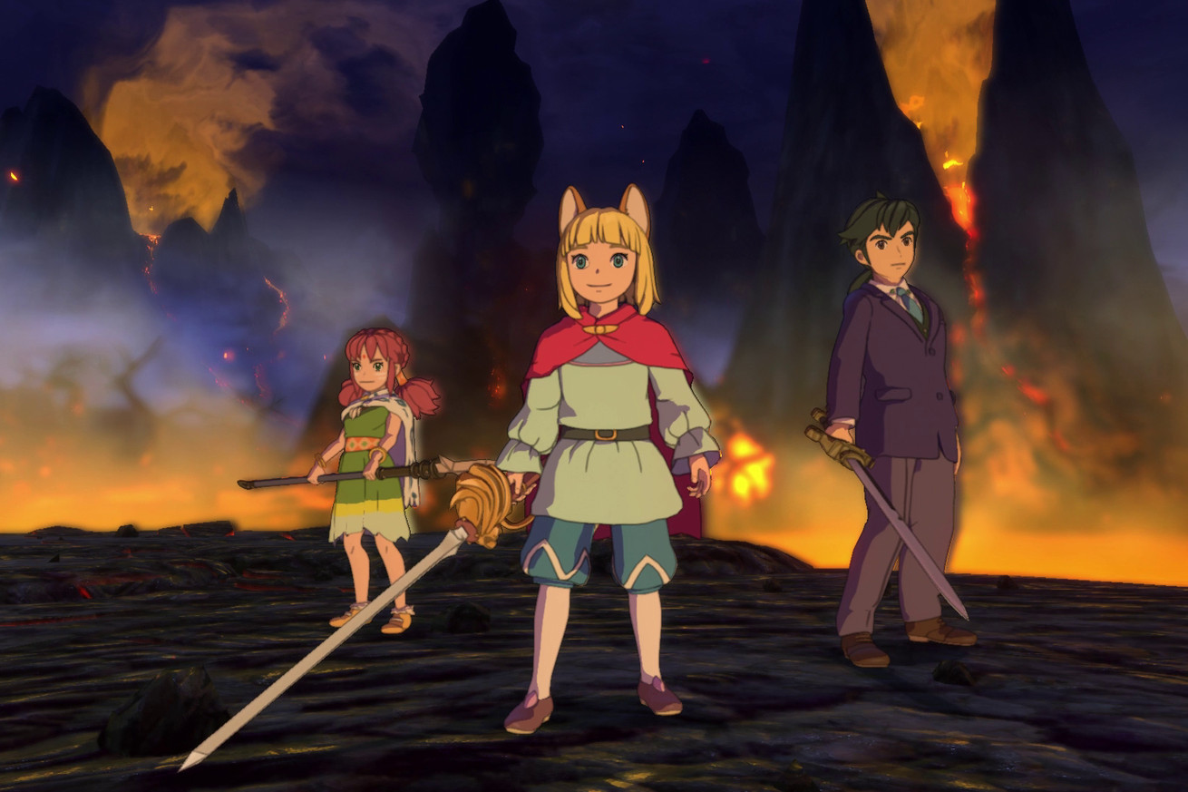 The new Ni No Kuni isn't technically a Studio Ghibli game, but it still kind of is