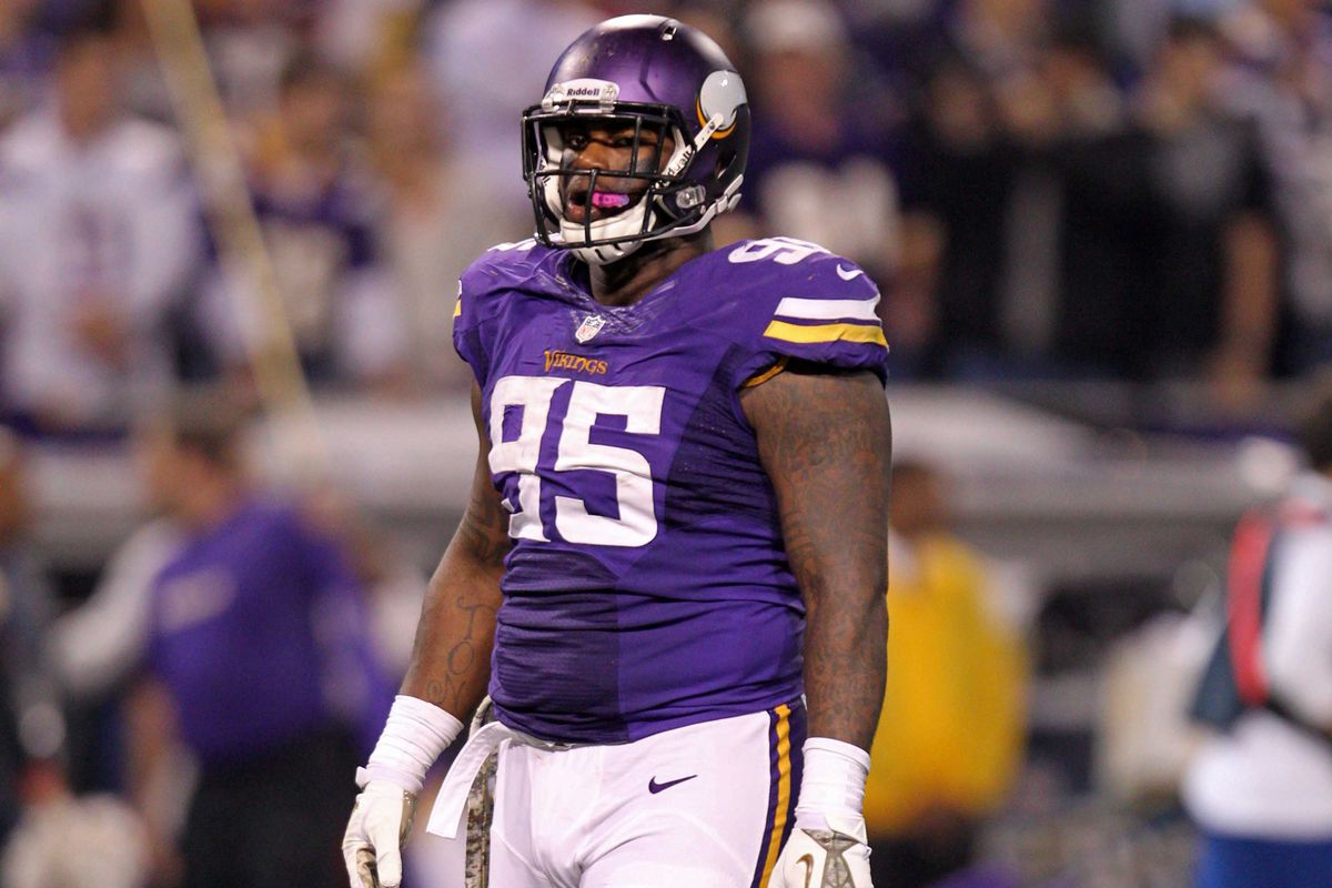 If you were looking forward to seeing #95 start for Minnesota this year. . .well, you're going to be disappointed.