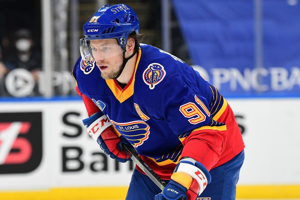 NHL: MAY 03 Ducks at Blues
