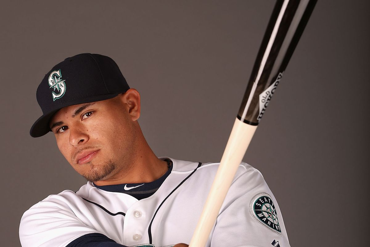 Third place winner in the Bowman Hitting Challenge, Mariners prospect Stefen Romero.