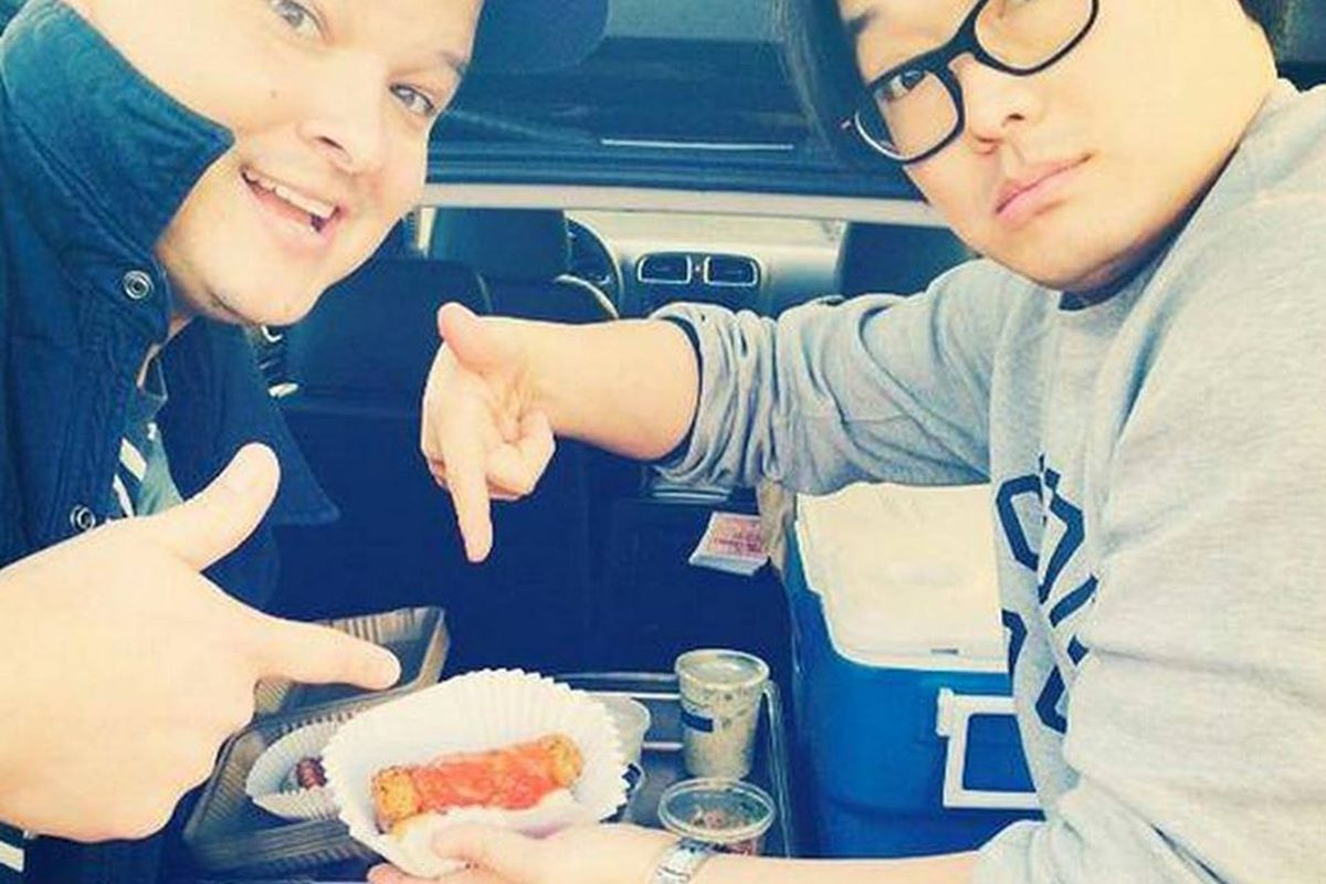 Stray Dogs chefs Peter Cho and Johnny Leach.