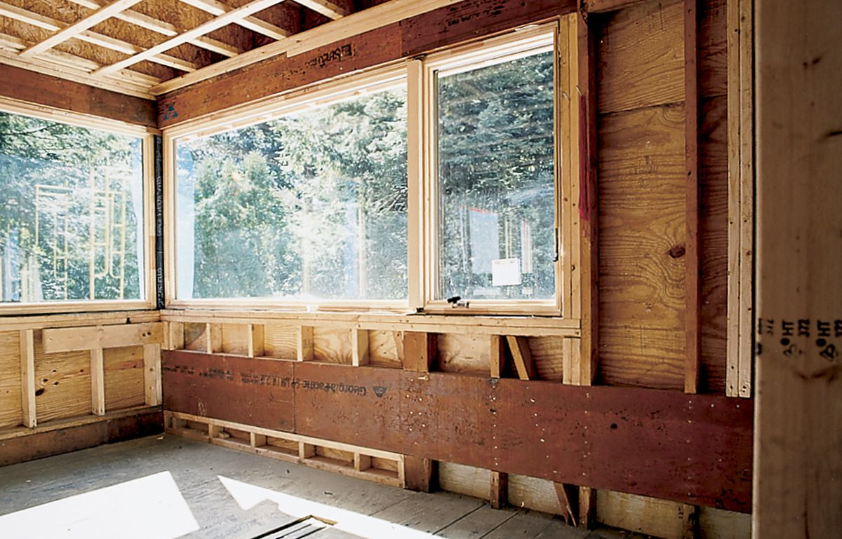 20-foot-long, 1 3/4-By-16-Inch LVL In TOH Cambridge Project House Cantilevers Out Without Posts