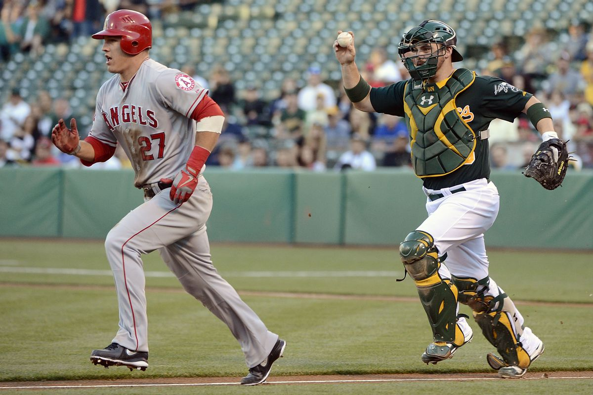Everyone is always chasing Mike Trout