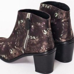 """<b>Miista</b> Ivy Ankle Boots in Woodland Multi, <a href=""""http://www.articleand.com/miista-ivy.html"""">$189</a> at Article&"""
