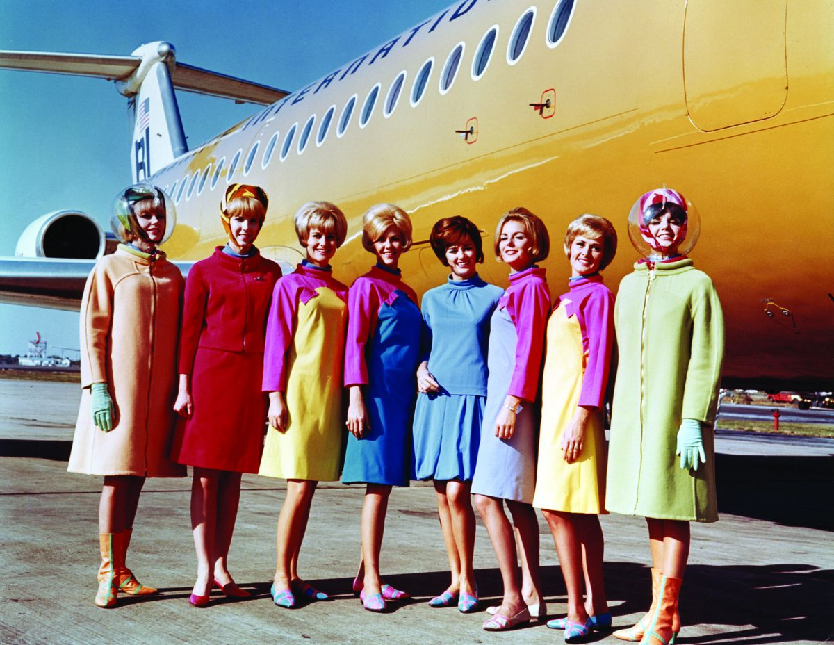 A Look At Flight Attendant Uniforms Through History Racked