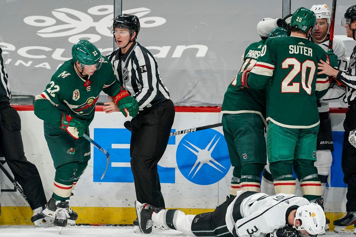 NHL: JAN 28 Kings at Wild