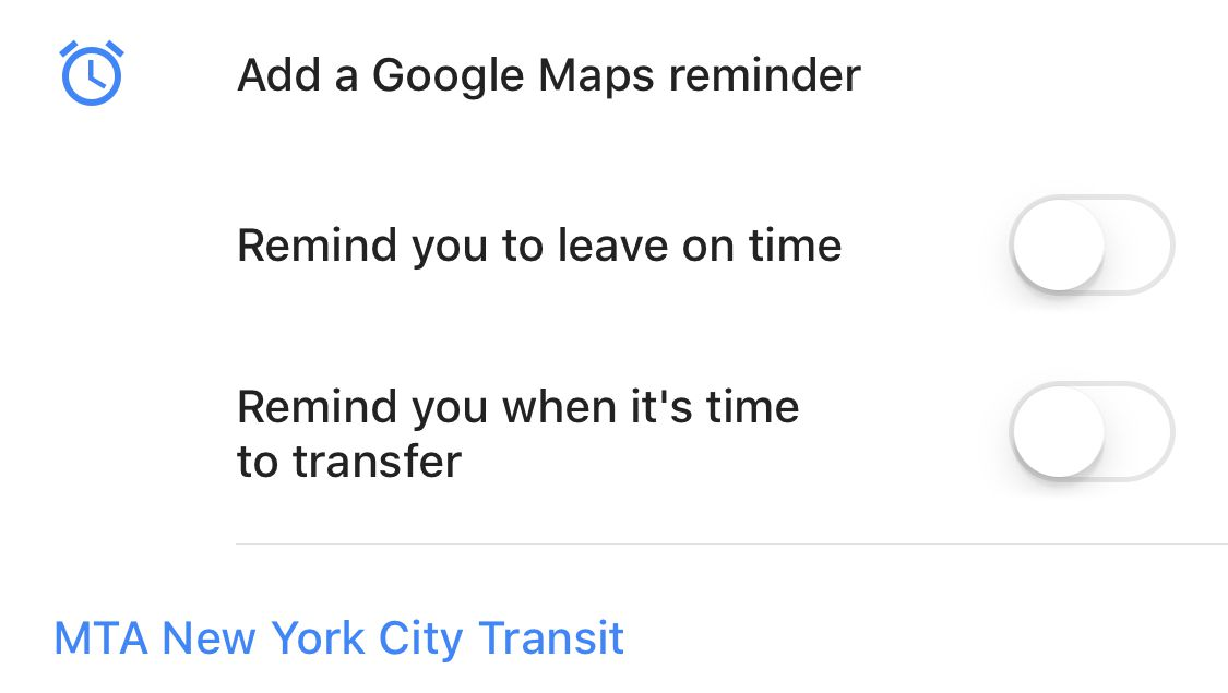 Google Maps will now alert you when it's time to get off the bus or