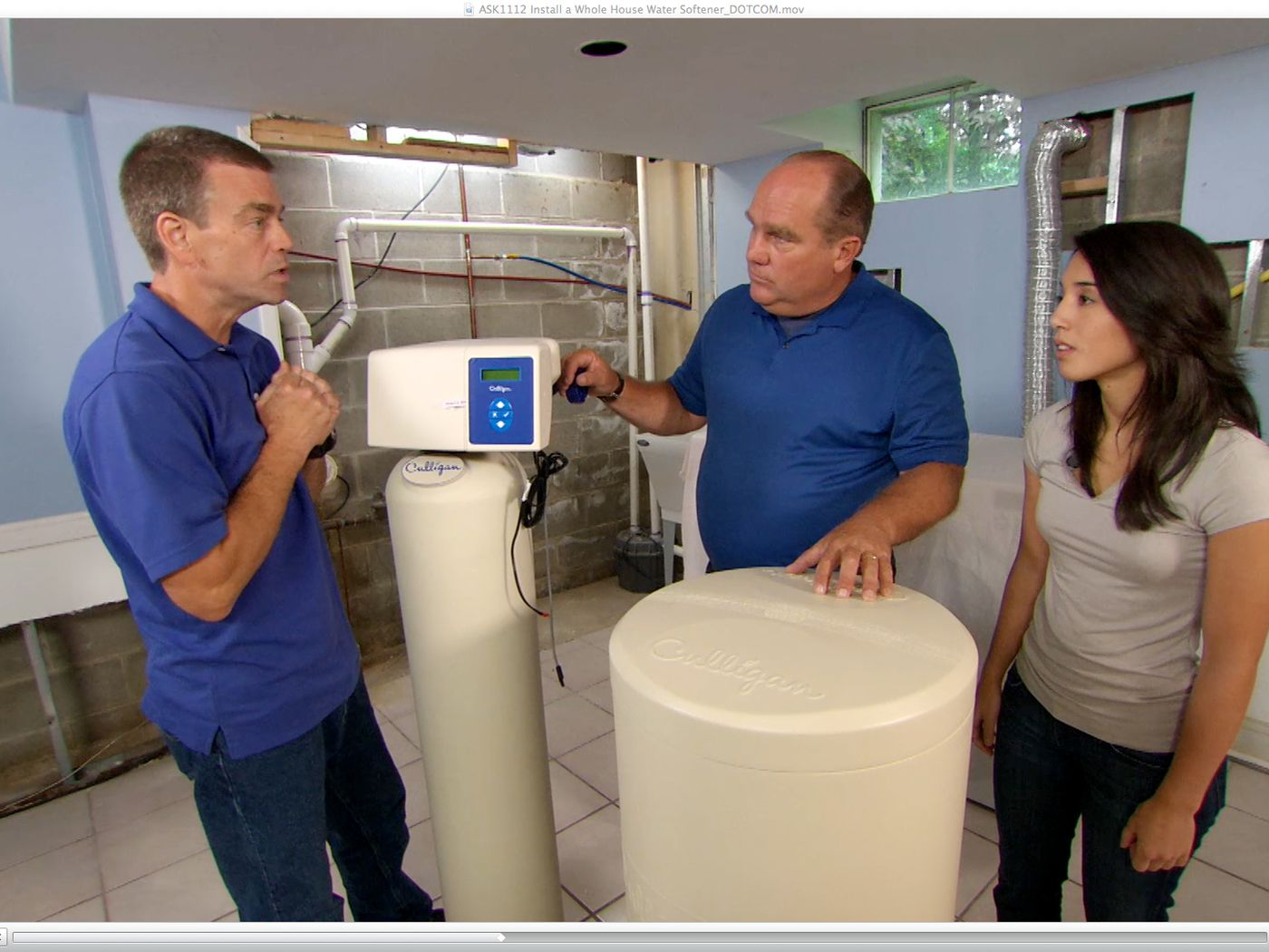 How To Install A Whole House Water Softener This Old House