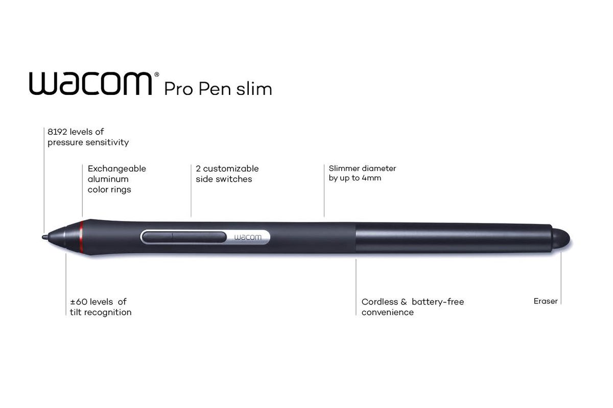 Wacom's Pro Pen slim is here to alleviate your hand cramps