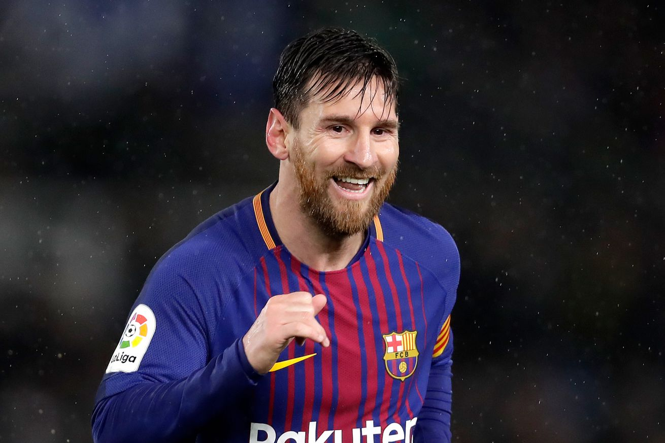 Lionel Messi breaks yet another record with his 366th Barcelona goal