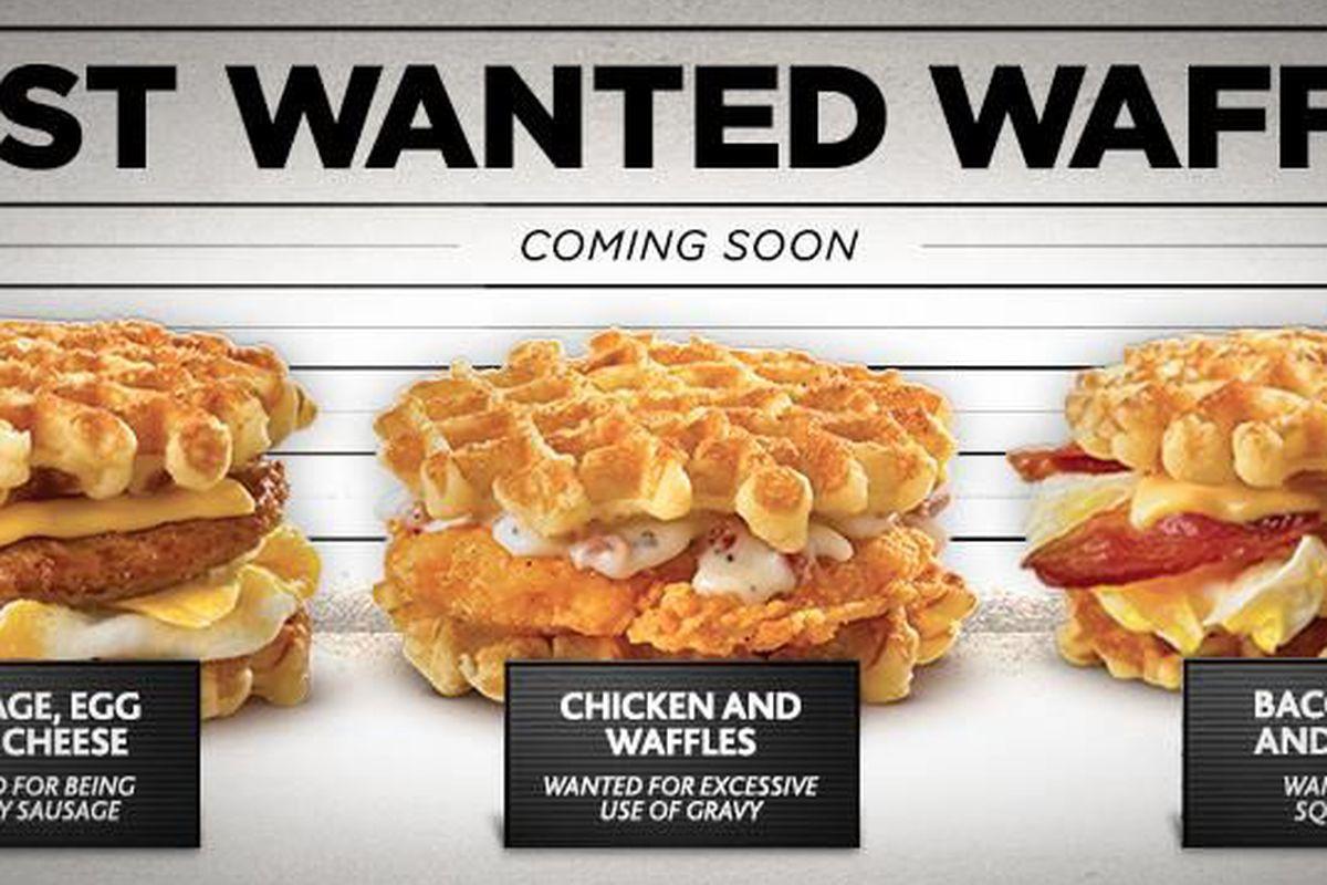 White Castle Boldly Unleashes Line of Belgian Waffle