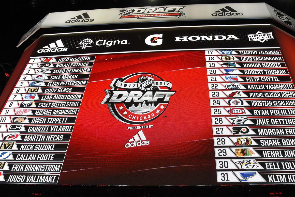 2018 NHL Draft Lottery Results: Carolina Hurricanes to pick