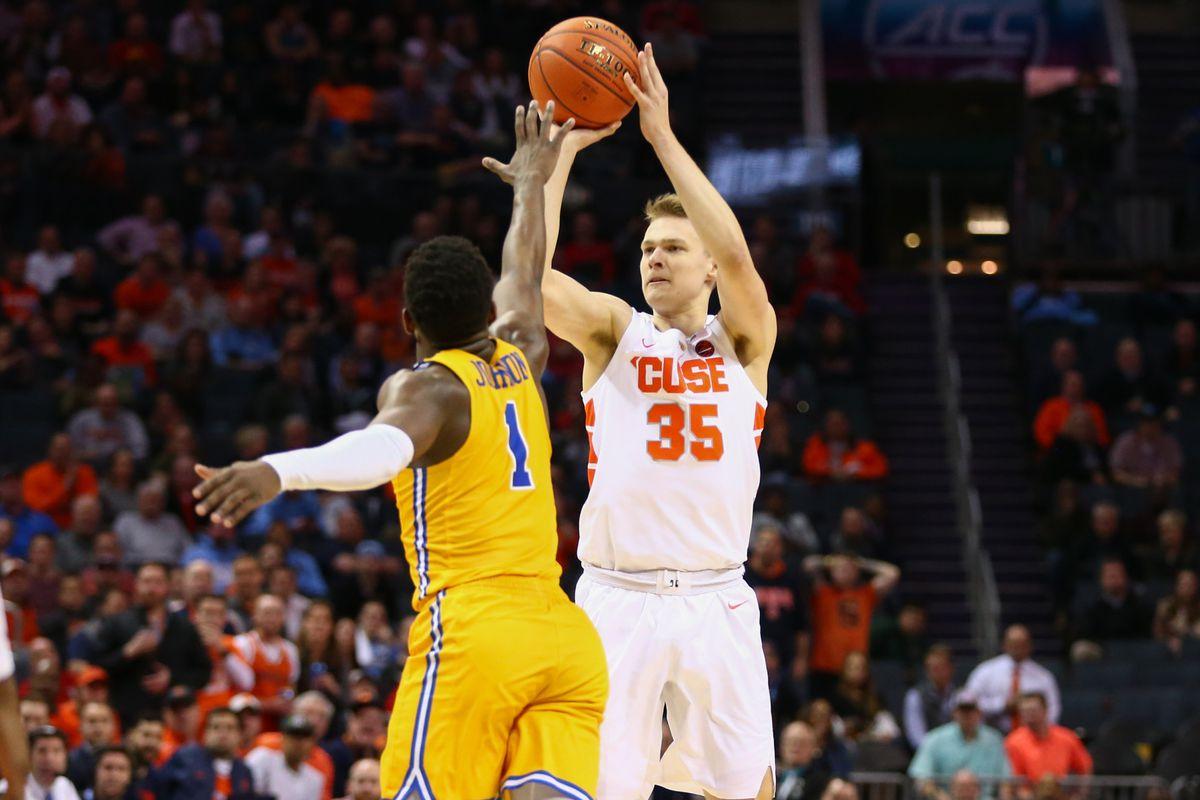 Buddy Boeheim Filled Tyus Battle's In Orange's ACC Victory