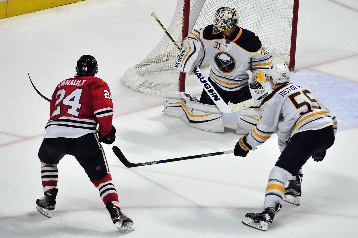 Phillip Danault's first career goal proved to be the difference Friday night in Chicago.