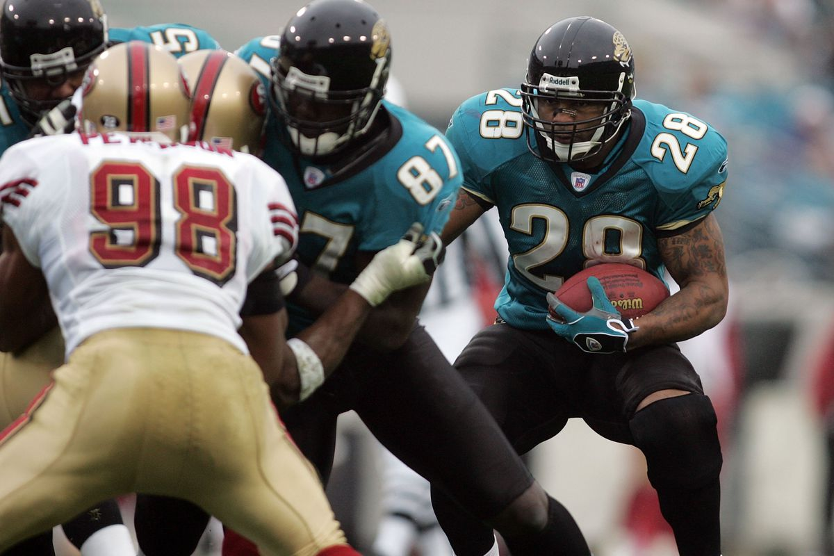 Jaguars vs 49ers series history jags looks to end two game skid photo by doug bencgetty images m4hsunfo