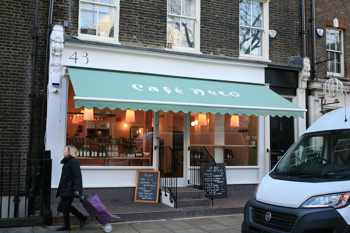 Anna Tobias' and 40 Maltby Street's Cafe Deco in Bloomsbury open for takeaway during the coronavirus lockdown