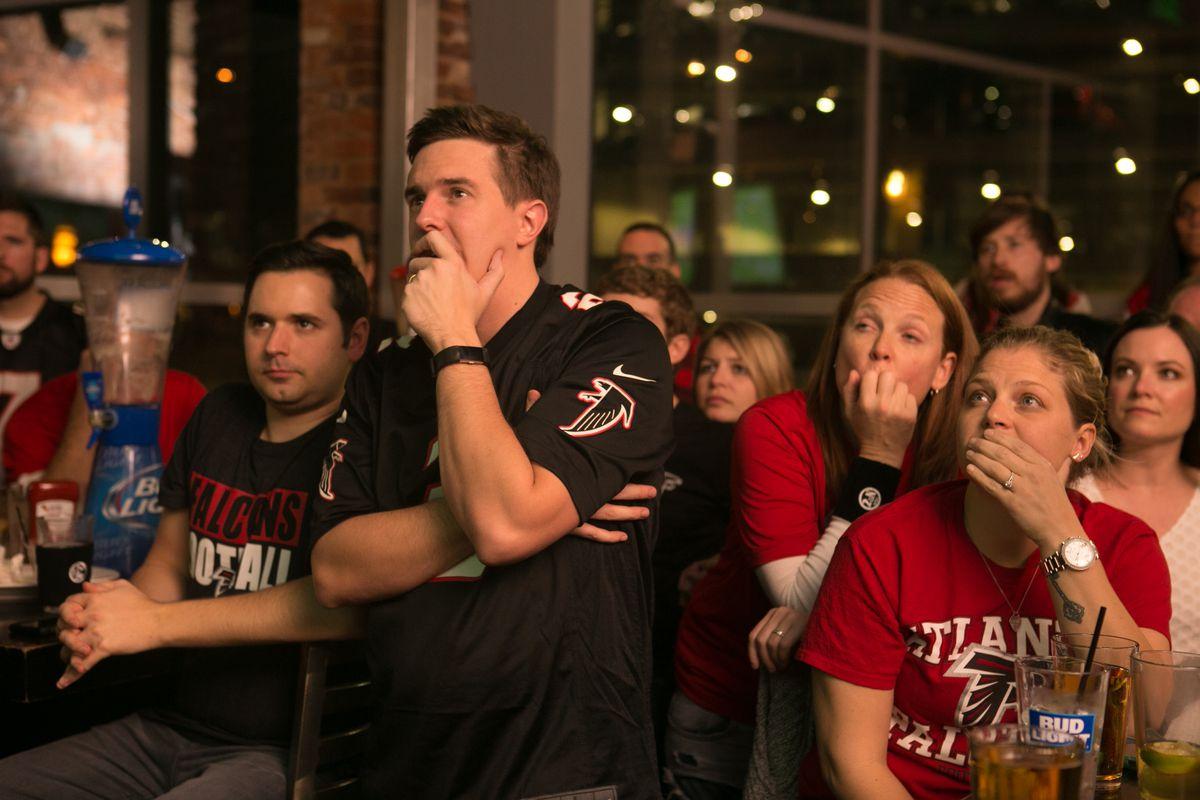 Atlanta Falcons Fans Watch Super Bowl LI Against The New England Patriots
