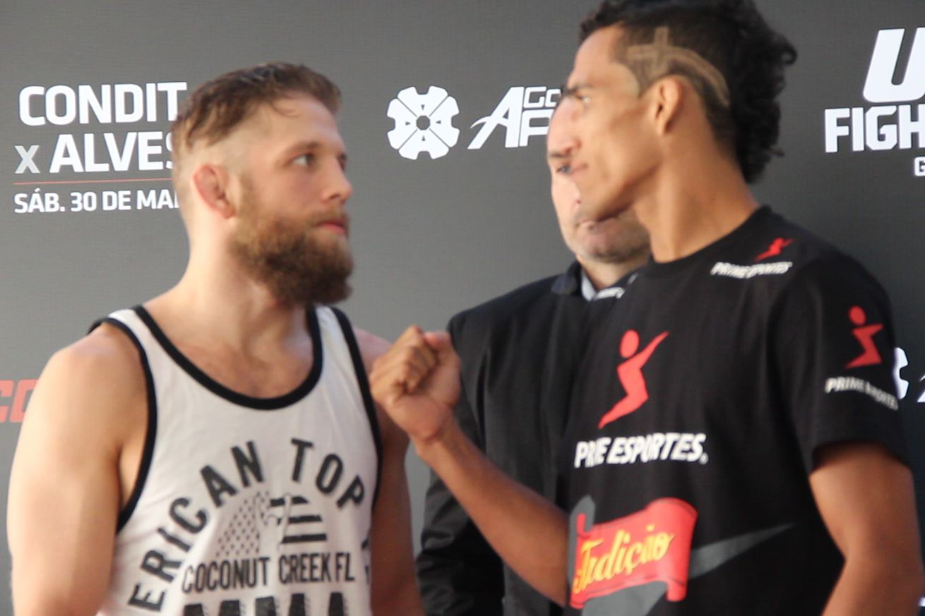 Charles Oliveira and Nik Lentz will meet for a third time inside the Octagon in May.