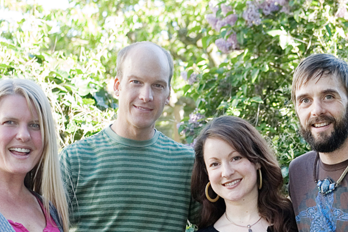 Sutra's owners: Jan Geibel, Aaron Geibel, Amber Tande, and Colin Patterson