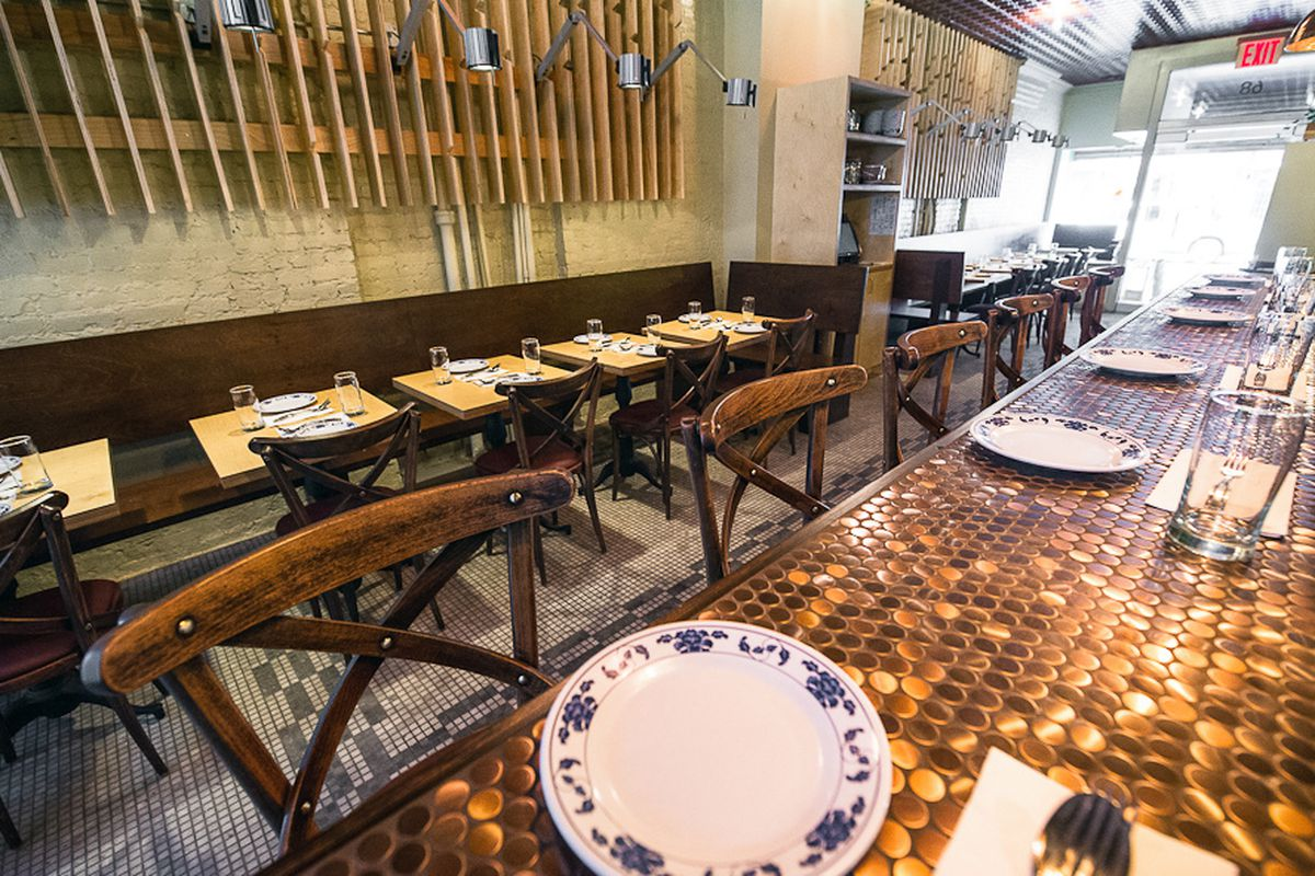 Pete Wells Gives Two Stars To Pig And Khao Jeepney Eater NY - Cohen's table pads