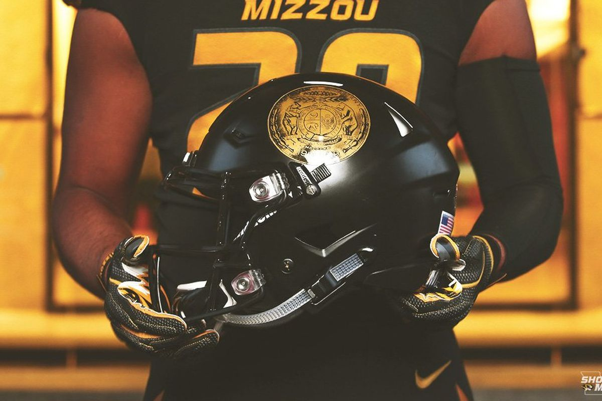 LOOK  Mizzou Football unveils uniforms to honor Veterans day - Rock ... 62094504f