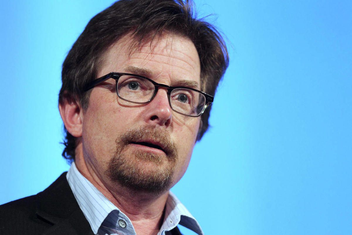 Michael J. Fox speaks at the Middlesex Community College Celebrity Forum in Lowell, Mass. in June of 2012.
