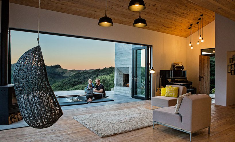 New Zealands Backcountry Huts Inspired This Breezy Open