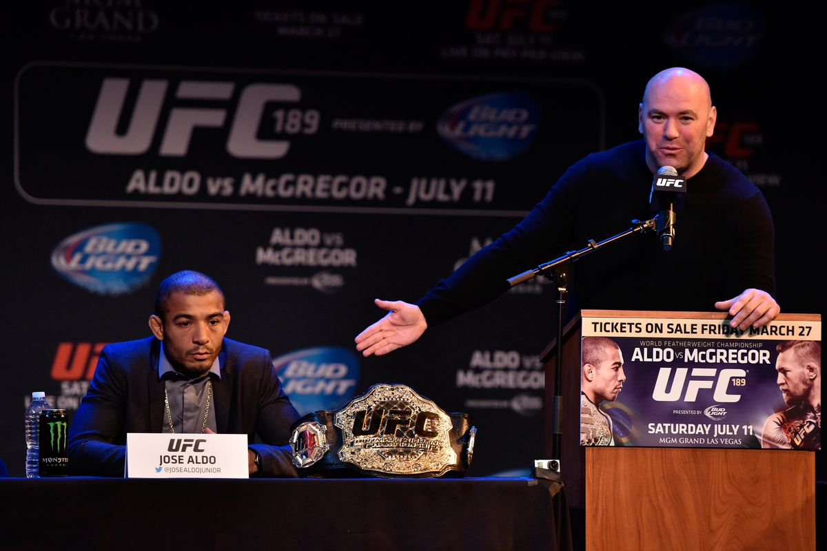 Dana White: 'There's no way' Jose Aldo could make 135 pounds